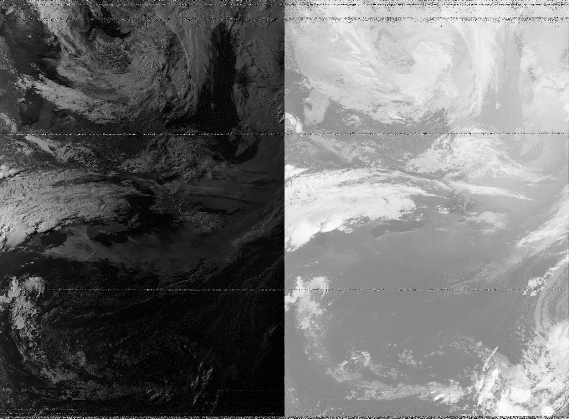 NOAA 15 pass over PEI