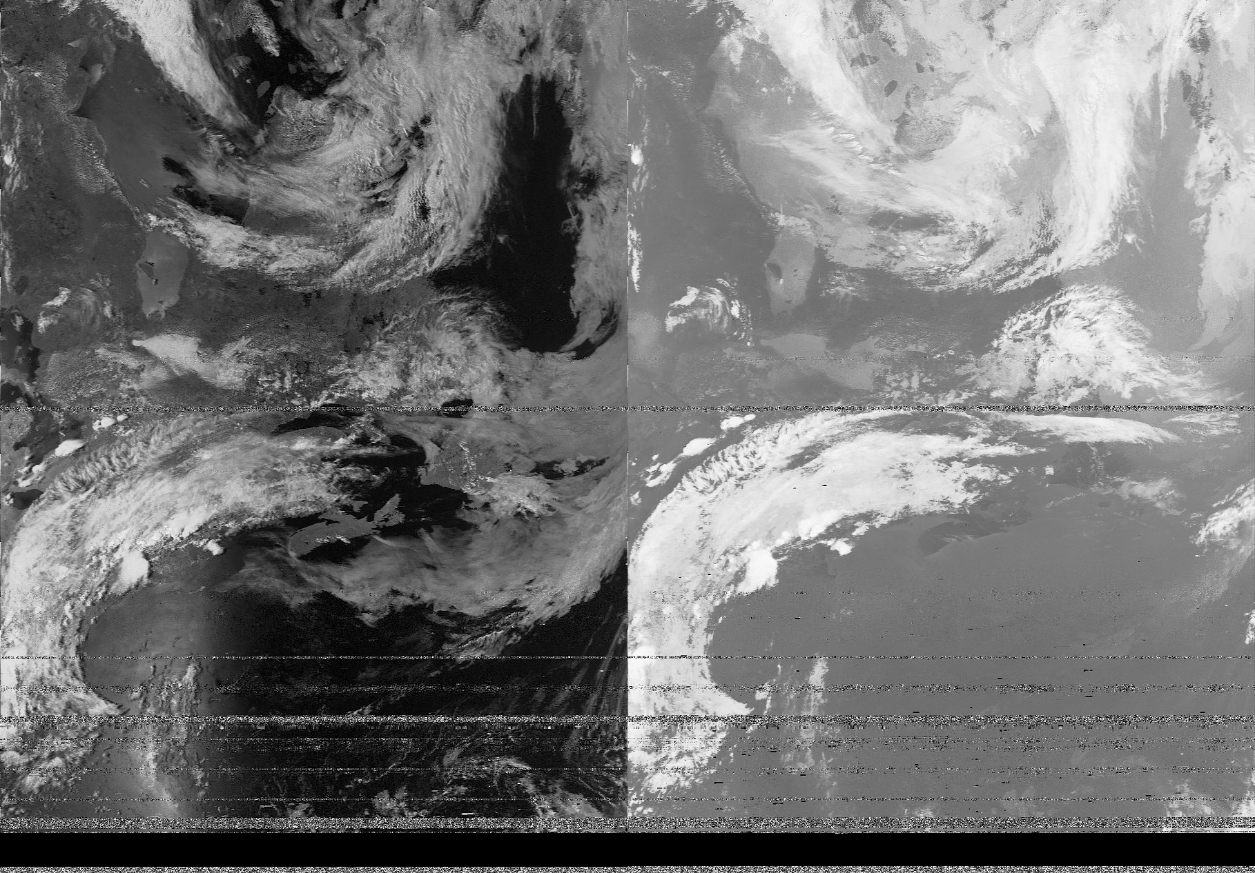 NOAA 19 pass over PEI